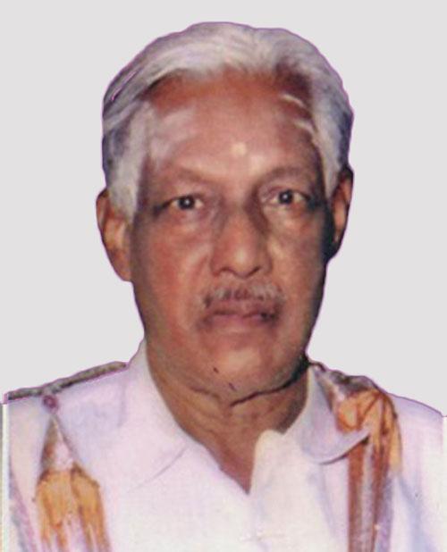 Dr G Viswanathan Pillai