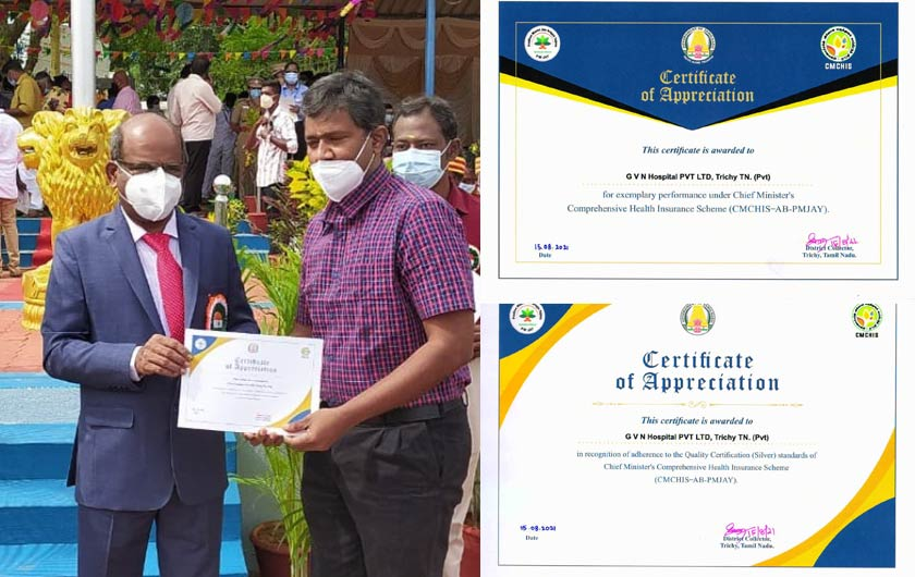 Award for Exemplary Performance in Health Insurance Scheme